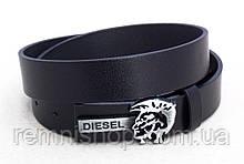 Ремінь вузький шкіряний Diesel