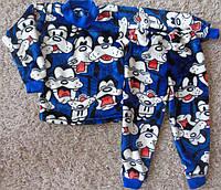 Детская махровая пижама ГУФФИ