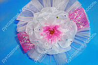 Обруч с цветком Розовая нежность