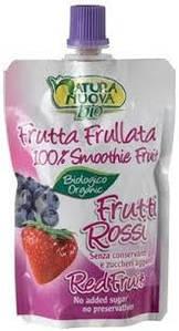 Пюре фруктовое из красных ягод Natura Nuova, 100г