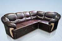 """Угловой кожаный диван """"Честер"""""""
