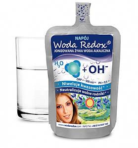 Живая вода с отрицательным редокс-потенциалом Woda Redox, 240мл