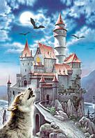 """Пазлы Castorland """"Замок и волк"""" - 1000 элементов."""