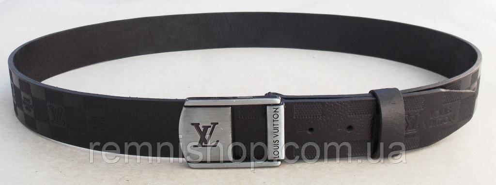 Ремень мужской кожаный для джинс Louis Vuitton