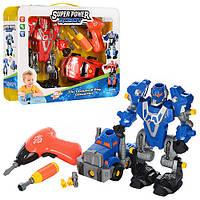 Детский конструктор Робот 3 в 1