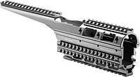 Цевье FAB Defense VFR-AK для АК47/74 алюминий черный