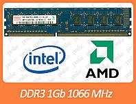 DDR3 1GB 1066 MHz (PC3-8500) разные производители