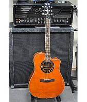 Электроакустическая гитара FENDER T-BUCKET 300CE QMT AM Новая!