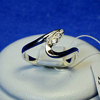 Кольцо золото с серебром кс 36з.нак