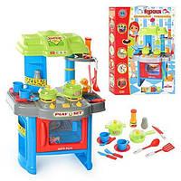 Игровой набор кухня 008-26а.  Свет, звук, духовка