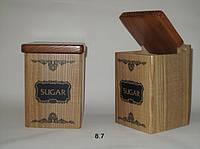 Деревянные контейнеры Sugar Black