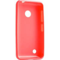 Чехол для сматф. MELKCO Nokia Lumia 530 Poly Jacket TPU розовый