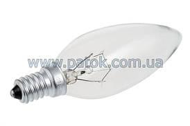 Лампочка свечеобразная для вытяжки Pyramida 10800015 E14 40W