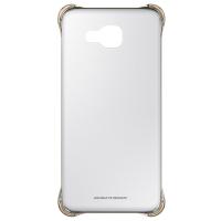 Чехол для сматф. SAMSUNG A7 2016/A710 - Clear Cover золотистый