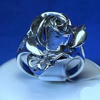 Серебряное кольцо Роза кс 1255
