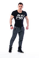Стеганные спортивные штаны Nebbia 106