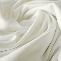 Ткань трикотаж вискоза плотная белая (метр )