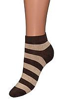 Детские носки (укороченные) (Коричневый)