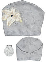 Детская шапочка (Серый)