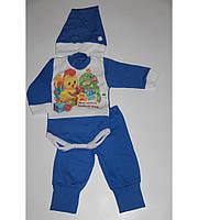"""Детский новогодний костюм """"Мой первый новый год"""" с ципой, рост 74/80 см"""