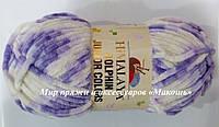 Плюшевая пряжа Dolphin junior colors Himalaya, 81001