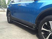 Пороги на Toyota Rav4 2016