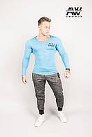 Мужская футболка с длинным рукавом Nebbia 119