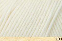 Пряжа Dona Донна Фибранатура, 106-01, молочный