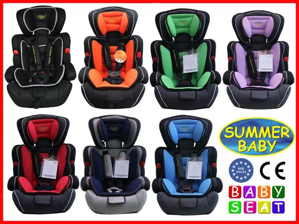 Автокресла Summer Baby  COSMO 9-36 кг