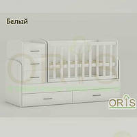 Кровать - трансформер для детей Oris Maya Белый