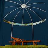 Круглый садовый павильон 3,5 м Синий, фото 3