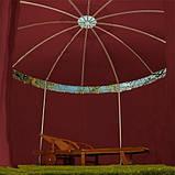 Круглый садовый павильон 3,5 м Бордовый, фото 2