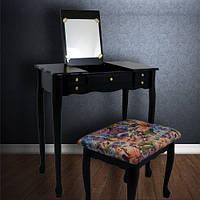 Туалетный стол с зеркалом и стулом ART-394