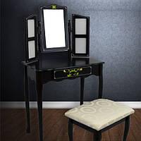 Туалетный стол с зеркалом и стулом ART-391