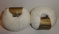 Пряжа Беби вул Baby Wool Gazzal, 801, белый