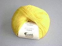 Пряжа Беби вул Baby Wool Gazzal, 812, желтый