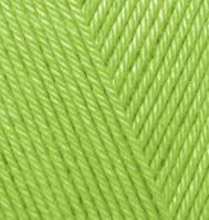 Пряжа Дива Diva Ализе, 612, зеленый неон