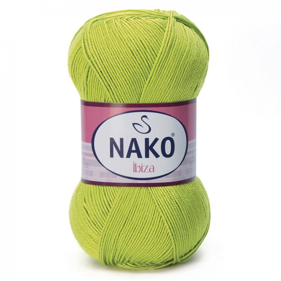 Пряжа Ибица Ibiza Nako, 11014, салат