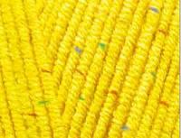 Пряжа Коттон голд твид Cotton Gold Alize, № 110, цыпленок