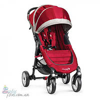 Прогулочная коляска Baby Jogger City Mini 4 Wheel Single Crimson/Gray