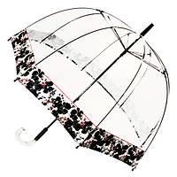 Прозрачный зонт Zest трость Цветы ( механика ) арт. 51570-5