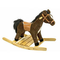 Лошадка-качалка Melissa&Doug Rock and Trot Plush Rocking Horse MD2137