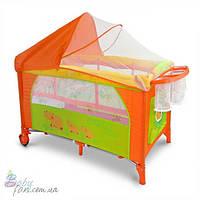 Манеж-кровать Milly Mally Mirage Deluxe Hippo