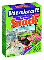 Смесь Vitakraft 25064 Snack для шиншилл плоды шиповника и цветы розы 50 г