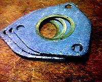 Оригинальная прокладка фланца приемных труб в сборе LANOS и ZAZ Chance T1301-1203020. Прокладка штанов