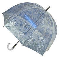 Прозрачный зонт Zest трость Туман ( механика ) арт. 51570-3