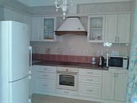 Кухня МДФ Белая манзония, фото 1