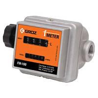 Механический счетчик топлива Groz FM-100/0-1/BSP
