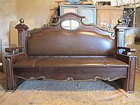 Мебель из дерева, эксклюзивная деревянная  кровать