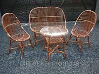 Комплект плетенной мебели из лозы №115